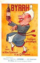 adv100039 - Advertising Byrrh Postcard Tonique Hygienique A Base De Vins Genereux de Quinquina Old Vintage Antique Post Card