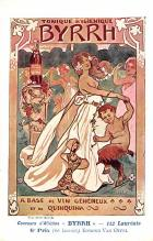 adv100041 - Advertising Byrrh Postcard Tonique Hygienique A Base De Vins Genereux de Quinquina Old Vintage Antique Post Card
