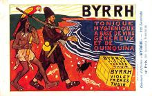 adv100043 - Advertising Byrrh Postcard Tonique Hygienique A Base De Vins Genereux de Quinquina Old Vintage Antique Post Card