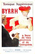 adv100045 - Advertising Byrrh Postcard Tonique Hygienique A Base De Vins Genereux de Quinquina Old Vintage Antique Post Card