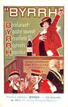 adv100047 - Advertising Byrrh Postcard Tonique Hygienique A Base De Vins Genereux de Quinquina Old Vintage Antique Post Card