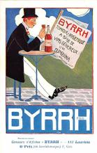 adv100049 - Advertising Byrrh Postcard Tonique Hygienique A Base De Vins Genereux de Quinquina Old Vintage Antique Post Card