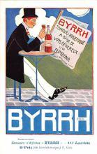adv100049 - Advertising Byrrh Postcard Tonique Hygienique A Base De Vins Genereux de Quinquina Old Vintage Antique Post Card