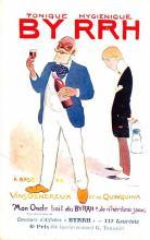 adv100051 - Advertising Byrrh Postcard Tonique Hygienique A Base De Vins Genereux de Quinquina Old Vintage Antique Post Card