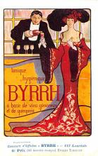 adv100053 - Advertising Byrrh Postcard Tonique Hygienique A Base De Vins Genereux de Quinquina Old Vintage Antique Post Card