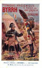adv100059 - Advertising Byrrh Postcard Tonique Hygienique A Base De Vins Genereux de Quinquina Old Vintage Antique Post Card