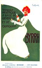 adv100063 - Advertising Byrrh Postcard Tonique Hygienique A Base De Vins Genereux de Quinquina Old Vintage Antique Post Card
