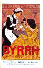 adv100065 - Advertising Byrrh Postcard Tonique Hygienique A Base De Vins Genereux de Quinquina Old Vintage Antique Post Card