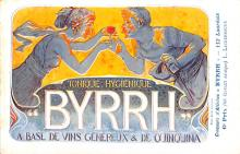adv100067 - Advertising Byrrh Postcard Tonique Hygienique A Base De Vins Genereux de Quinquina Old Vintage Antique Post Card