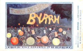 adv100069 - Advertising Byrrh Postcard Tonique Hygienique A Base De Vins Genereux de Quinquina Old Vintage Antique Post Card