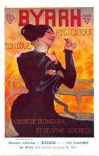 adv100071 - Advertising Byrrh Postcard Tonique Hygienique A Base De Vins Genereux de Quinquina Old Vintage Antique Post Card
