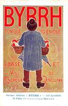 adv100073 - Advertising Byrrh Postcard Tonique Hygienique A Base De Vins Genereux de Quinquina Old Vintage Antique Post Card