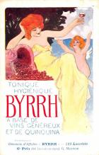 adv100075 - Advertising Byrrh Postcard Tonique Hygienique A Base De Vins Genereux de Quinquina Old Vintage Antique Post Card