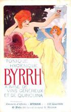 adv100075 - Advertising Byrrh Postcard Tonique Hygienique A Base De Vins Genereux de Quinquina Old Vintage Antique Post Card