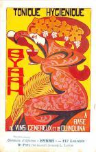 adv100077 - Advertising Byrrh Postcard Tonique Hygienique A Base De Vins Genereux de Quinquina Old Vintage Antique Post Card