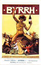 adv100081 - Advertising Byrrh Postcard Tonique Hygienique A Base De Vins Genereux de Quinquina Old Vintage Antique Post Card