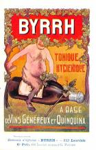 adv100089 - Advertising Byrrh Postcard Tonique Hygienique A Base De Vins Genereux de Quinquina Old Vintage Antique Post Card