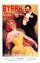 adv100093 - Advertising Byrrh Postcard Tonique Hygienique A Base De Vins Genereux de Quinquina Old Vintage Antique Post Card