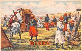 adv100101 - Advertising Byrrh Postcard Tonique Hygienique A Base De Vins Genereux de Quinquina Old Vintage Antique Post Card