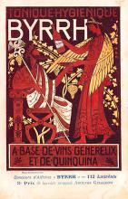 adv100107 - Advertising Byrrh Postcard Tonique Hygienique A Base De Vins Genereux de Quinquina Old Vintage Antique Post Card
