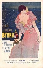 adv100113 - Advertising Byrrh Postcard Tonique Hygienique A Base De Vins Genereux de Quinquina Old Vintage Antique Post Card