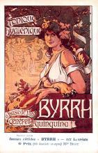 adv100119 - Advertising Byrrh Postcard Tonique Hygienique A Base De Vins Genereux de Quinquina Old Vintage Antique Post Card