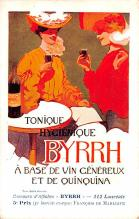adv100125 - Advertising Byrrh Postcard Tonique Hygienique A Base De Vins Genereux de Quinquina Old Vintage Antique Post Card