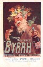 adv100127 - Advertising Byrrh Postcard Tonique Hygienique A Base De Vins Genereux de Quinquina Old Vintage Antique Post Card