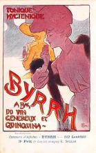 adv100129 - Advertising Byrrh Postcard Tonique Hygienique A Base De Vins Genereux de Quinquina Old Vintage Antique Post Card
