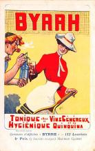 adv100131 - Advertising Byrrh Postcard Tonique Hygienique A Base De Vins Genereux de Quinquina Old Vintage Antique Post Card