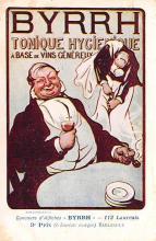 adv100133 - Advertising Byrrh Postcard Tonique Hygienique A Base De Vins Genereux de Quinquina Old Vintage Antique Post Card