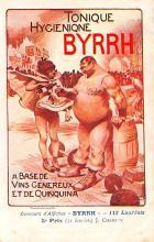 adv100137 - Advertising Byrrh Postcard Tonique Hygienique A Base De Vins Genereux de Quinquina Old Vintage Antique Post Card