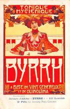 adv100139 - Advertising Byrrh Postcard Tonique Hygienique A Base De Vins Genereux de Quinquina Old Vintage Antique Post Card