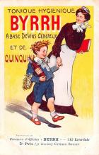 adv100141 - Advertising Byrrh Postcard Tonique Hygienique A Base De Vins Genereux de Quinquina Old Vintage Antique Post Card