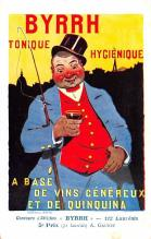 adv100143 - Advertising Byrrh Postcard Tonique Hygienique A Base De Vins Genereux de Quinquina Old Vintage Antique Post Card