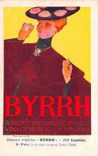 adv100145 - Advertising Byrrh Postcard Tonique Hygienique A Base De Vins Genereux de Quinquina Old Vintage Antique Post Card