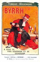 adv100147 - Advertising Byrrh Postcard Tonique Hygienique A Base De Vins Genereux de Quinquina Old Vintage Antique Post Card
