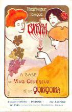 adv100149 - Advertising Byrrh Postcard Tonique Hygienique A Base De Vins Genereux de Quinquina Old Vintage Antique Post Card