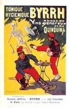 adv100151 - Advertising Byrrh Postcard Tonique Hygienique A Base De Vins Genereux de Quinquina Old Vintage Antique Post Card