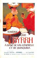 adv100153 - Advertising Byrrh Postcard Tonique Hygienique A Base De Vins Genereux de Quinquina Old Vintage Antique Post Card