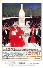 adv100155 - Advertising Byrrh Postcard Tonique Hygienique A Base De Vins Genereux de Quinquina Old Vintage Antique Post Card