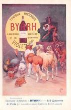 adv100161 - Advertising Byrrh Postcard Tonique Hygienique A Base De Vins Genereux de Quinquina Old Vintage Antique Post Card