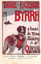 adv100163 - Advertising Byrrh Postcard Tonique Hygienique A Base De Vins Genereux de Quinquina Old Vintage Antique Post Card