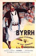 adv100165 - Advertising Byrrh Postcard Tonique Hygienique A Base De Vins Genereux de Quinquina Old Vintage Antique Post Card