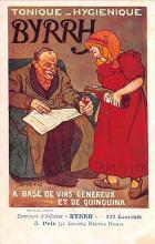 adv100167 - Advertising Byrrh Postcard Tonique Hygienique A Base De Vins Genereux de Quinquina Old Vintage Antique Post Card