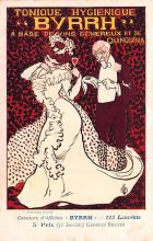 adv100171 - Advertising Byrrh Postcard Tonique Hygienique A Base De Vins Genereux de Quinquina Old Vintage Antique Post Card