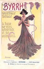 adv100173 - Advertising Byrrh Postcard Tonique Hygienique A Base De Vins Genereux de Quinquina Old Vintage Antique Post Card