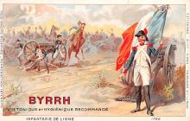 adv100179 - Advertising Byrrh Postcard Tonique Hygienique A Base De Vins Genereux de Quinquina Old Vintage Antique Post Card