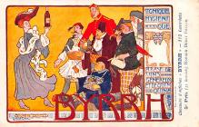 adv100181 - Advertising Byrrh Postcard Tonique Hygienique A Base De Vins Genereux de Quinquina Old Vintage Antique Post Card