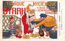 adv100185 - Advertising Byrrh Postcard Tonique Hygienique A Base De Vins Genereux de Quinquina Old Vintage Antique Post Card